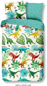Good Morning Kids Dinos 6808 Multi Dekbedovertrek 140 x 200/220 cm